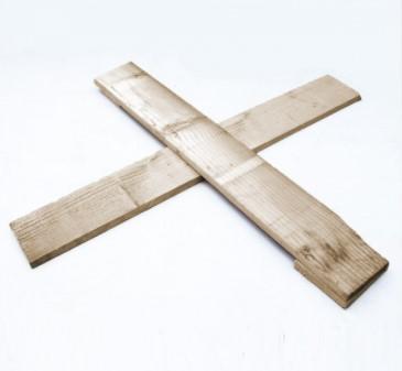 houten kruis standaard kerstboom